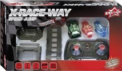 RC model auta se závodní dráhou monster truck Starkid Tremplin X-Race-Way 68193