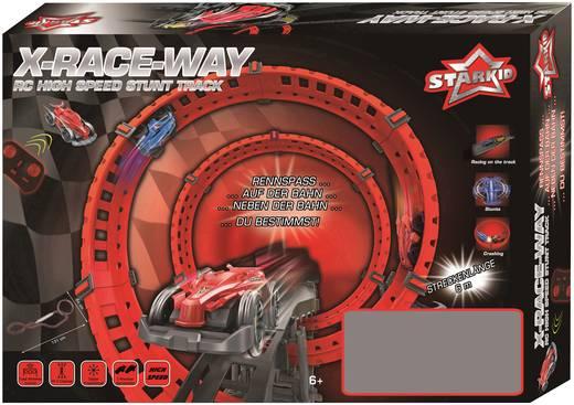 Starkid 68162 X-Race Way RC Modellauto mit Rennbahn Elektro Monstertruck Heckantrieb