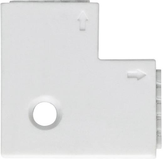 90° Eckverbinder Kunststoff (L x B x H) 2.5 x 2.5 x 0.45 cm Paulmann 70616