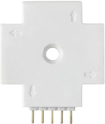 X-Verbinder Kunststoff (L x B x H) 3.2 x 2.8 x 0.6 cm Paulmann 70617