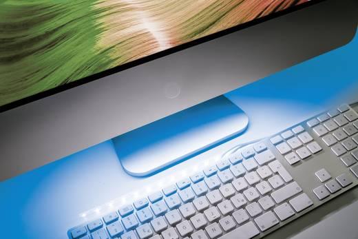 led streifen komplettset mit usb anschluss 30 cm blau paulmann 70703. Black Bedroom Furniture Sets. Home Design Ideas