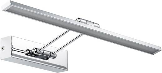 LED-Bilderleuchte 7 W Warm-Weiß Paulmann Beam Fifty 99889 Chrom