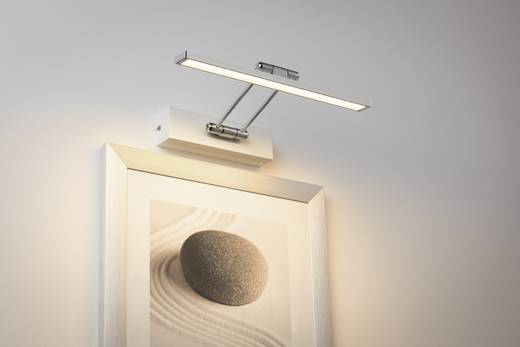 LED-Bilderleuchte 5 W Warm-Weiß Paulmann Thirty 99891 Weiß