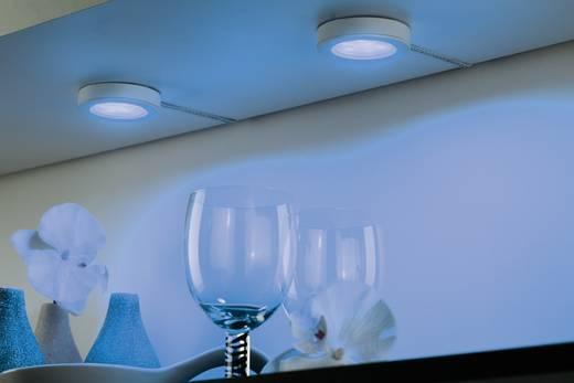 LED-Aufbauleuchte 3er Set 3 W RGB Paulmann 93568 Platy Weiß