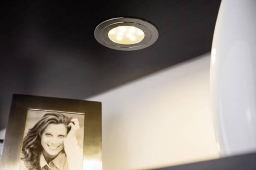 LED-Einbauleuchte 3er Set 16.8 W Warm-Weiß Paulmann Circuit 93570 Eisen (gebürstet)