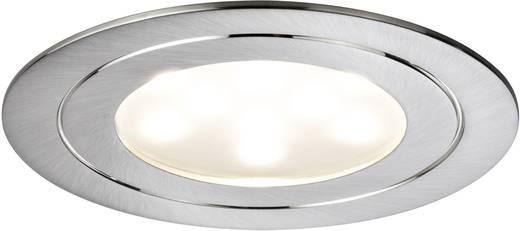 Paulmann Circuit 93570 LED-Einbauleuchte 3er Set 16.8 W Warm-Weiß Eisen (gebürstet)