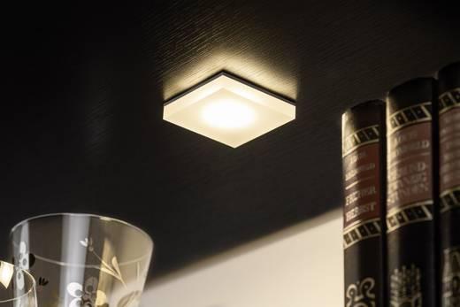 LED-Einbauleuchte 3er Set 3.9 W Warm-Weiß Paulmann Fleecy 93574 Satin