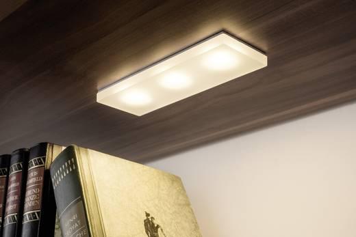 Paulmann Fleecy 93576 LED-Einbauleuchte 3er Set 10.8 W Warm-Weiß Satin