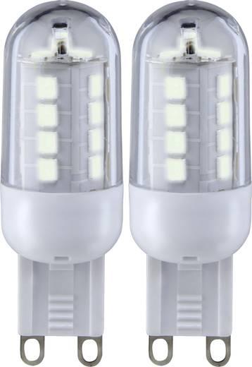 Sygonix LED G9 Stiftsockel 3 W = 25 W Warmweiß (Ø x L) 19.50 mm x 59 mm EEK: A+ 2 St.