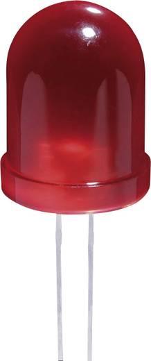 LED bedrahtet Rot Rund 10 mm 100 mcd 60 ° 20 mA 2 V