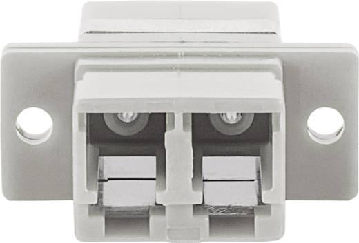 LWL-Kupplung Intellinet 760539 Beige