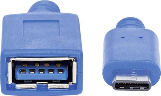 Manhattan USB Adapter [1x USB 3.0 Buchse A - 1x USB-C™ Stecker] 353540 Einzelschirm, Folienschirm