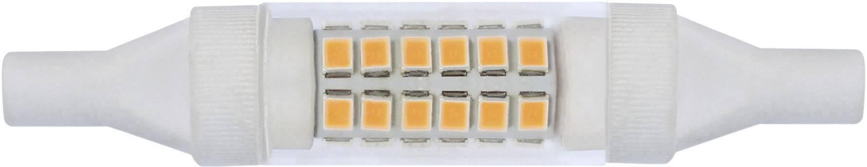 LightMe LED EEK A+ Ø x L R7s Röhrenform 6 W Warmweiß A++ - E 28 mm x 78 mm
