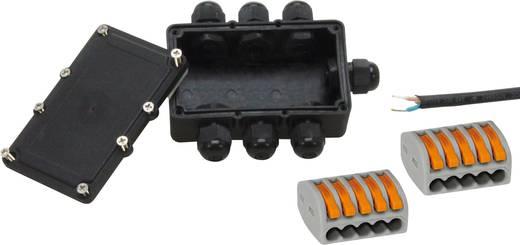 6fach Verteiler 24 V 36 mm Heitronic 21040 Schwarz