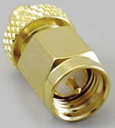 SMA-Adapter MCX-Stecker - SMA-Stecker BKL Electronic 0416322 1 St.