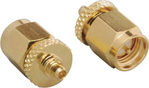 MMCX-Adapter MMCX Stecker - SMA-Stecker BKL Electronic 0416512 1 St.