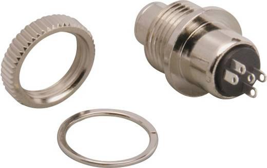 Klinken-Steckverbinder 3.5 mm Buchse, Einbau vertikal Polzahl: 2 Mono Silber BKL Electronic 1109023 1 St.