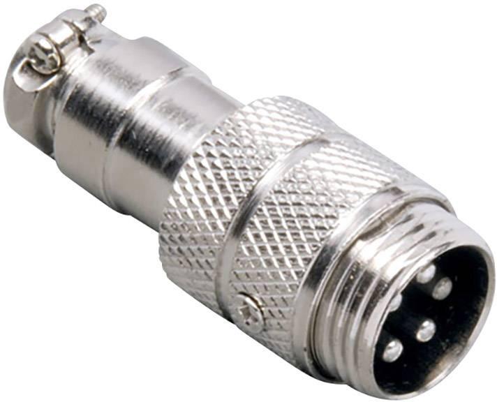 Einbau Vertikal Polzahl: Audiokabel-stecker Tru Components Miniatur-din-rundsteckverbinder Stecker