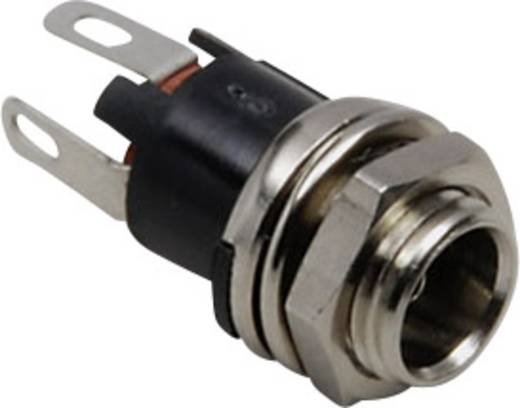 Niedervolt-Steckverbinder Buchse, Einbau vertikal 5.7 mm 2.1 mm BKL Electronic 072784 1 St.