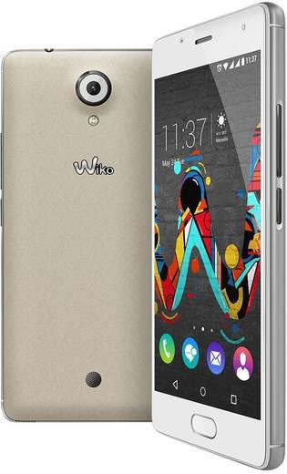 WIKO Feel LTE-Dual-SIM Smartphone 12.7 cm (5 Zoll) 1.3 GHz Quad Core 16 GB 13 Mio. Pixel Android™ 6.0 Marshmallow Cream