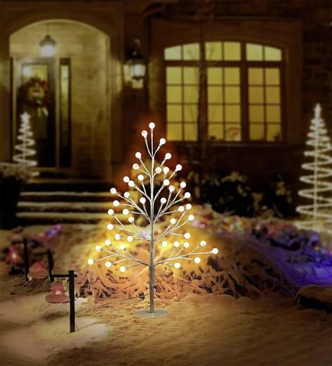 led tannenbaum 60 cm mit timer warm wei neutral wei polarlite 634c3 634c3 wei kaufen. Black Bedroom Furniture Sets. Home Design Ideas