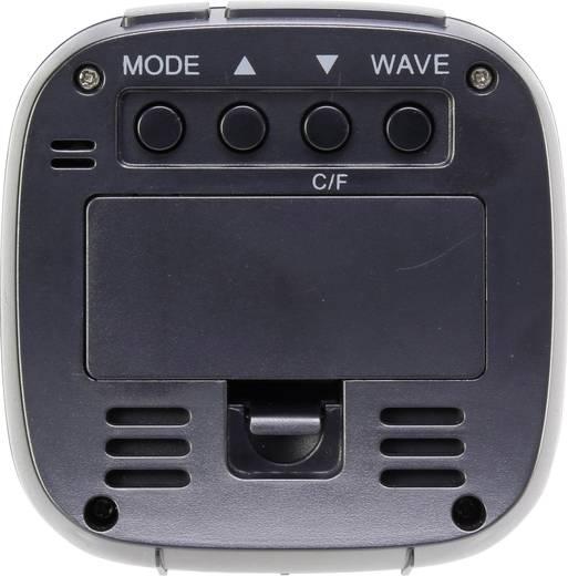 Funk Wecker Basetech E0126R Schwarz Alarmzeiten 1
