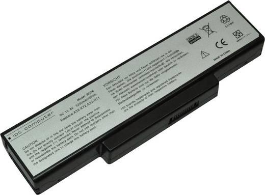 ipc-computer Notebook-Akku ersetzt Original-Akku 07G016CQ1875M, 70-NX01B1000Z, 70-NXH1B1000Z, 70-NZY1B1000Z, 90-NXH1B100