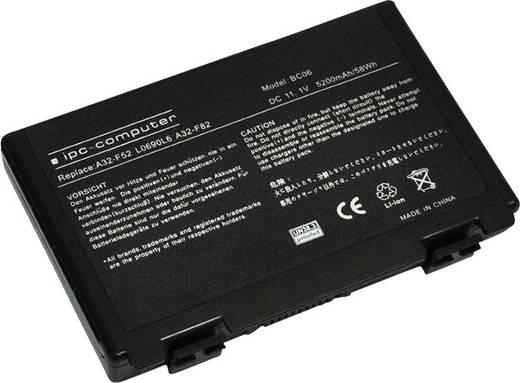 ipc-computer Notebook-Akku ersetzt Original-Akku 07G016761875M, 07G016AP1875, 0b20-009d0as, 70-NVP1B1200Z, A32-F52, A32-