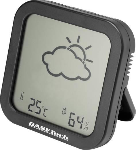 Thermo-/Hygrometer Basetech Anthrazit