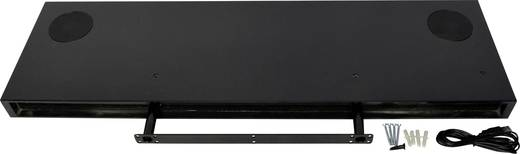 Bluetooth® Lautsprecher Wireless Stereo Speaker Shelf Wandregal Schwarz