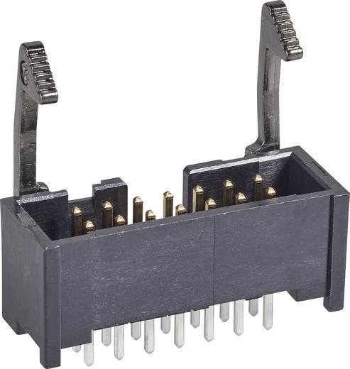 TE Connectivity Stiftleiste mit Verriegelungshebel lang Rastermaß: 2.54 mm Polzahl Gesamt: 16 Anzahl Reihen: 2 1 St.