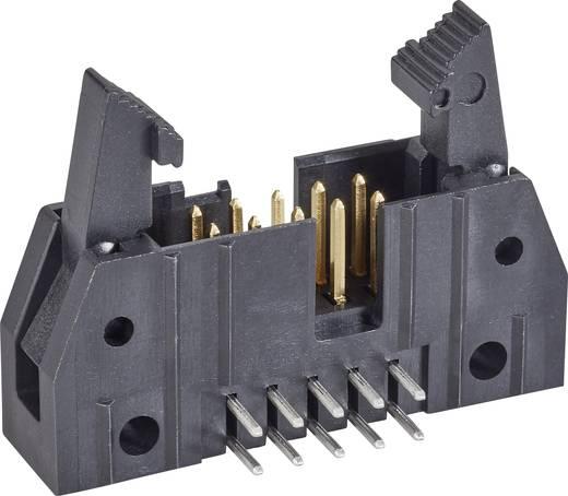 TE Connectivity Stiftleiste mit Auswurfhebel kurz Rastermaß: 2.54 mm Polzahl Gesamt: 20 Anzahl Reihen: 2 1 St.