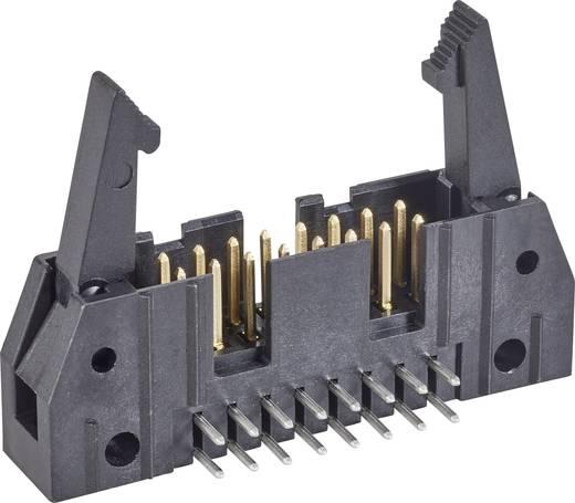 Stiftleiste mit Auswurfhebel lang Rastermaß: 2.54 mm Polzahl Gesamt: 50 Anzahl Reihen: 2 TE Connectivity 1 St.