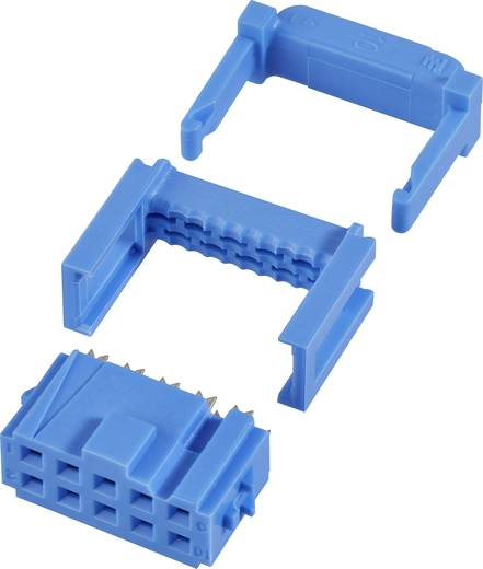 Buchsenleiste mit Zugentlastung Rastermaß: 2.54 mm Polzahl Gesamt: 40 Anzahl Reihen: 2 TE Connectivity 1 St.