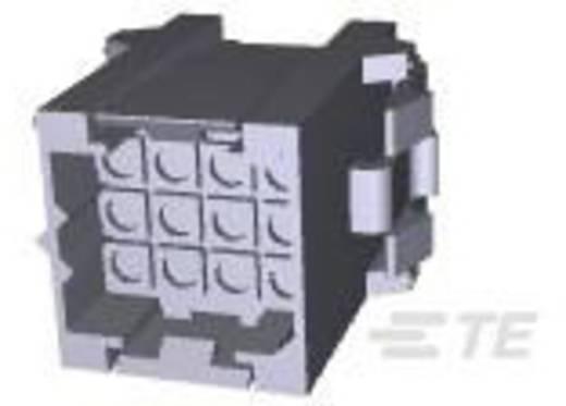 TE Connectivity Stiftgehäuse-Kabel Metrimate Polzahl Gesamt 12 Rastermaß: 5 mm 207018-1 1 St.
