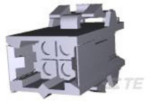 TE Connectivity 207016-1 Stiftgehäuse-Kabel Metrimate Polzahl Gesamt 4 Rastermaß: 5 mm 1 St.