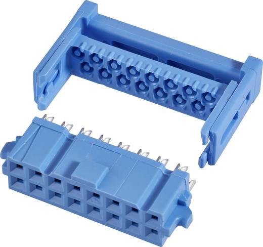 Buchsenleiste mit Zugentlastung Rastermaß: 2.54 mm Polzahl Gesamt: 14 Anzahl Reihen: 2 TE Connectivity 1 St.