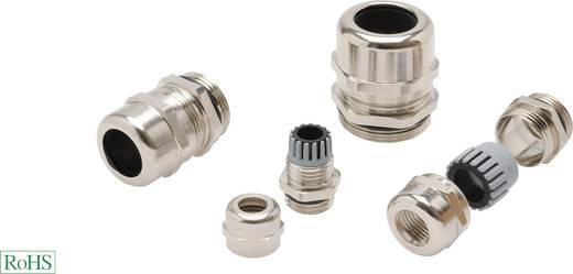 Kabelverschraubung mit reduziertem Dichteinsatz M20 Messing Messing Helukabel HT-MS-M-R 903562 1 St.