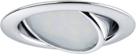 LED-Einbauleuchte 3er Set 12.6 W Warm-Weiß Paulmann Micro Line 92087 Chrom