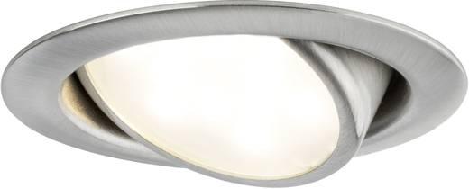 LED-Einbauleuchte 3er Set 12.6 W Warm-Weiß Paulmann Micro Line 92089 Eisen (gebürstet)