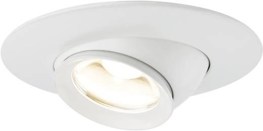LED-Einbauleuchte 3er Set 11.4 W Warm-Weiß Paulmann Focus 93578 Weiß (matt)