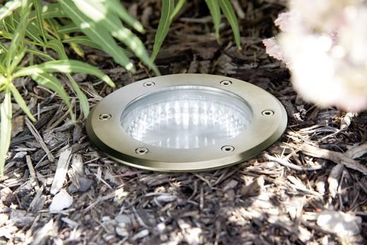 LED-Boden-Einbauleuchte 2.1 W Tageslicht-Weiß Paulmann 93746 Edelstahl