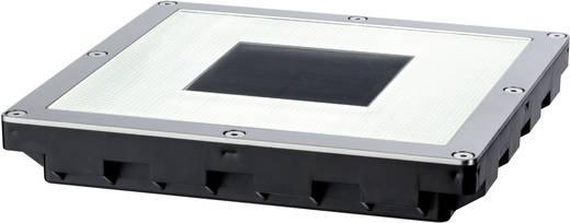 Solar-Einbauleuchte 0.6 W Warm-Weiß Paulmann Cube 93834 Edelstahl