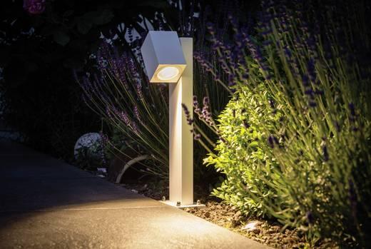 LED-Außenstandleuchte 7 W Warm-Weiß Paulmann 93816 Cube Flame Weiß (matt)
