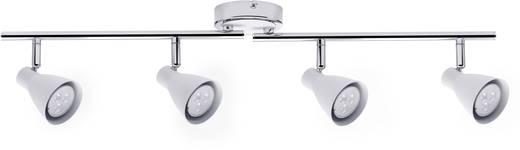 Deckenstrahler LED GU10 14 W Paulmann 2Simple 66556 Weiß