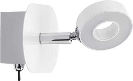 LED-Wandstrahler 4.3 W Warm-Weiß Paulmann Cycle 60369 Weiß