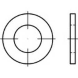 Podložka plochá TOOLCRAFT 146160 DIN7989 vonkajší Ø:30 mm Vnút.Ø:17.5 mm oceľ 100 ks