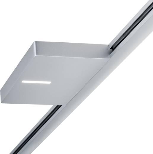 Hochvolt-Schienensystem-Leuchte URail LED fest eingebaut 16 W LED Paulmann Case Chrom (matt)