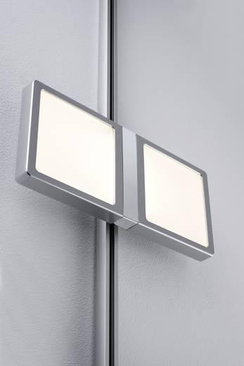 Schienen-Komplett-System URail LED fest eingebaut 8 W LED Paulmann Panel Double Chrom (matt)