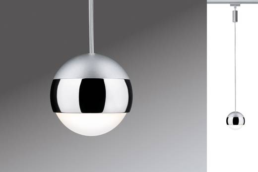 Hochvolt-Schienensystem-Leuchte URail LED fest eingebaut 4.5 W LED Paulmann Capsule Chrom (matt)